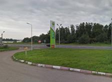 Фото: М10, 305км, Тверская область Вышневолоцкий р-н, г.Вышний Волочек, справа