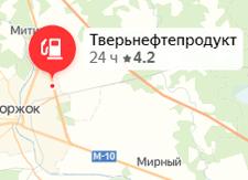 Фото: М10, 227 км, Тверская область, г. Торжок, ул. Чехова, АЗС №19, слева от Твери