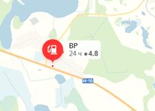 Фото: Россия, Тверская область, с. Коломно, трасса М10, 319 км, Москва-СПб (Россия), справа