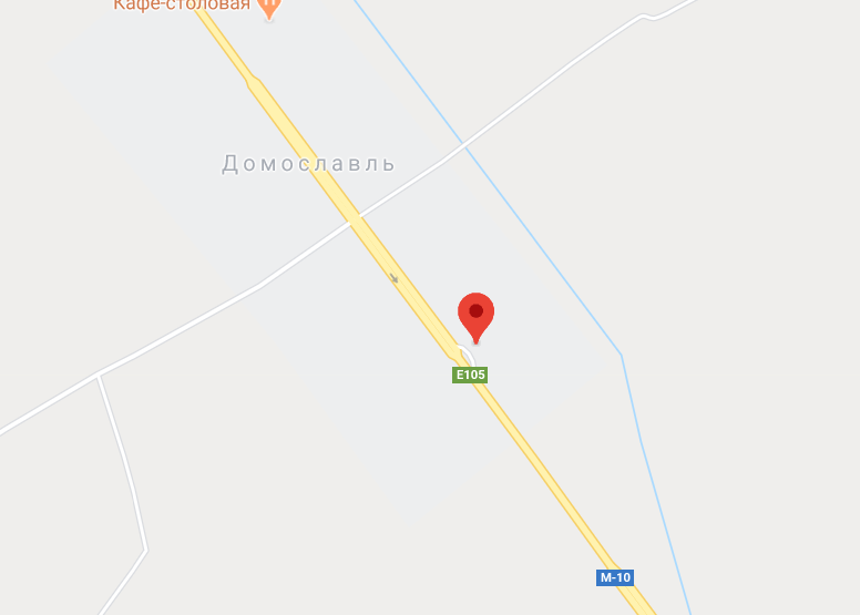Фото: Вышневолоцкий район, деревня Домославль, 271 км. трассы М10/Е105 (справа)