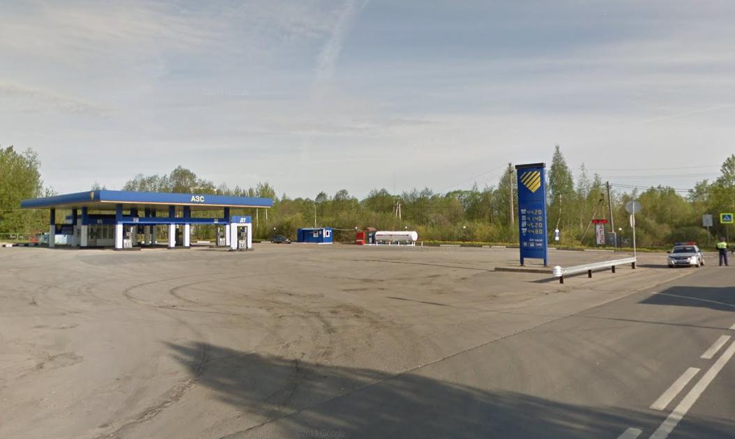 Фото: город Вышний Волочёк, Московское шоссе, 1А, 296 км. трассы М10/Е105 (слева)