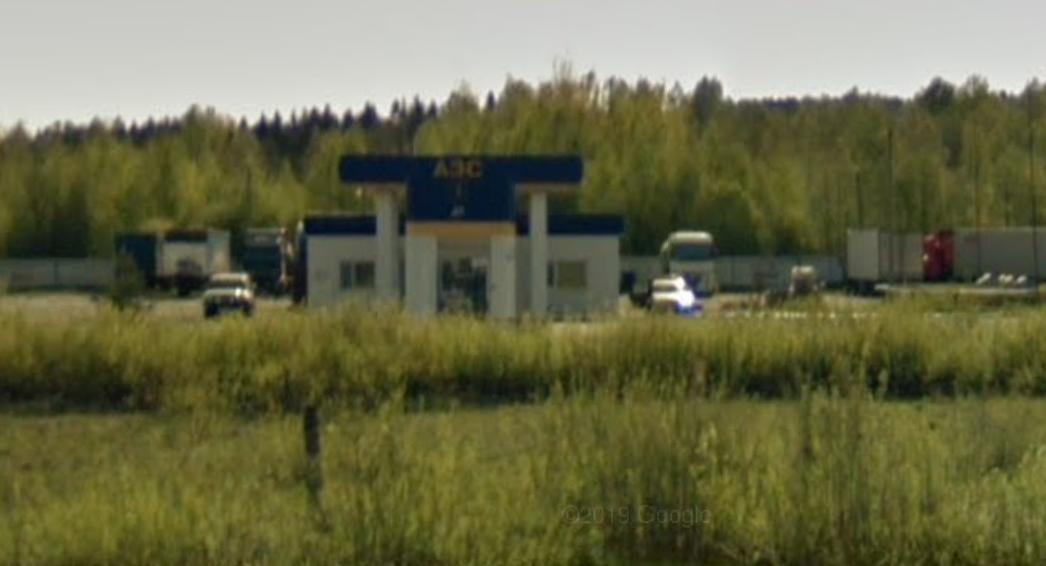 Фото: город Вышний Волочёк, 294 км. трассы М10/Е105 (справа)