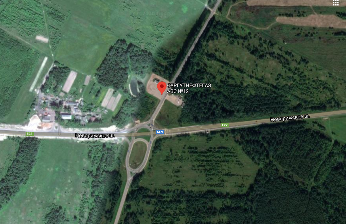 Фото: М9, 276км, Тверская обл., Оленинский р-н, п.Оленино, АЗС №12