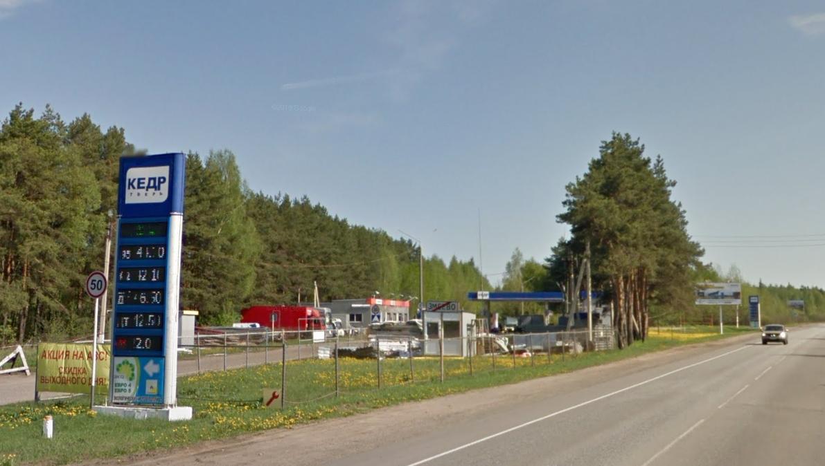 Фото: Россия, Тверская область, Калининский р-он, д. Змеево, 9-й км. трассы Р84, слева из Твери